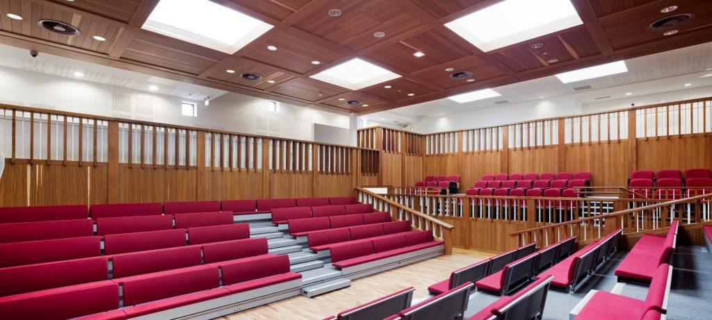 UCD Garret Fitzgerald Debating Chamber